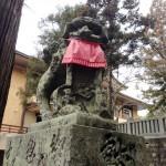 大麻比古神社の狛犬